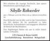 Sibylle Rohweder