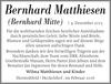 Bernhard Matthiesen