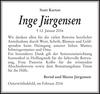 Inge Jürgensen