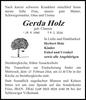 Gerda Holz