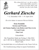 Gerhard Ziesche