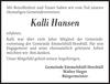 Kalli Hansen