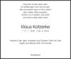 Klaus Kotzerke