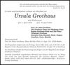 Ursula Grothaus
