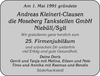 Andreas Kleinert-Clausen Moseberg Tankstellen Niebüll Sylt