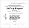 Hedwig Boysen