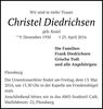 Christel Diedrichsen