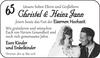 Christel und Heinz Jann