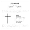 Gisela Bunk