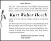 Kurt Walter Hoeck