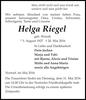 Helga Riegel