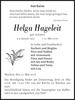 Helga Hageleit
