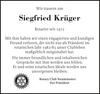 Siegfried Krüger