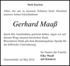 Gerhard Maaß