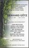 GERHARD GÖTZ