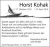 Horst Kohak