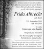 Frida Albrecht