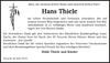Hans Thiele