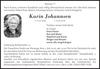 Karin Johannsen
