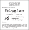 Waltraut Bauer