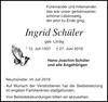 Ingrid Schüler