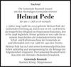 Helmut Pede