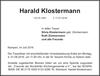 Harald Klostermann