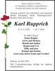 Karl Rupprich