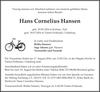 Hans Cornelius Hansen