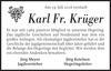 Karl Fr. Krüger