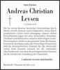 Andreas Christian Levsen