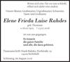Elene Frieda Luise Rahdes