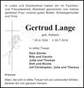 Gertrud Lange