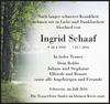 Ingrid Schaaf