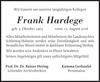 Frank Hardege