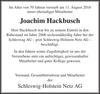 Joachim Hackbusch