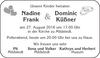 Nadine Dominic Frank Küßner