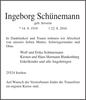 Ingeborg Schünemann