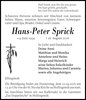 Hans-Peter Sprick