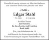 Edgar Stahl