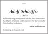 Adolf Schleiffer