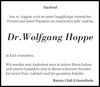 Dr.Wolfgang Hoppe
