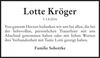 Lotte Kröger