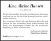 Alma Alwine Hansen