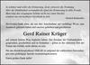 Gerd Rainer Krüger