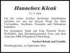Hannelore Klenk