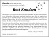 Rosi Knudsen