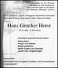 Hans Günther Horst