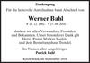 Werner Bahl