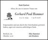 Gerhard Paul Hammer